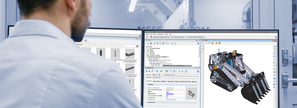 SAP Engineering Control Center is the standard integration platform for MCAD authoring tools. It links MCAD systems seamlessly to SAP PLM.