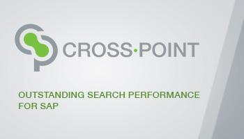 CROSS·POINT   So schnell & einfach ging Finden in SAP noch nie!