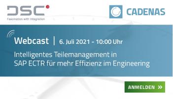 Webcast   Intelligentes Teilemanagement in SAP ECTR für mehr Effizienz im Engineering